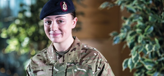 British Army: Emily Jane Tostevin