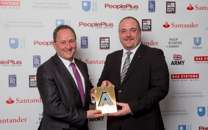 Dale Power wins at National Apprenticeship Awards
