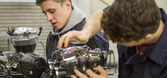 Triumph looking for new intake of motorcycle apprentices