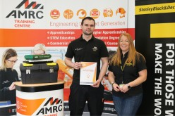 AMRC Training Centre apprentices get the job done with Stanley Black and Decker