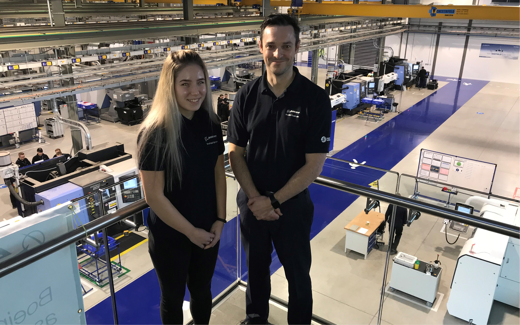 Boeing and AMRC Training Centre- Roisin Chapman-Allison and James Needham on becoming an apprentice, and recruiting one