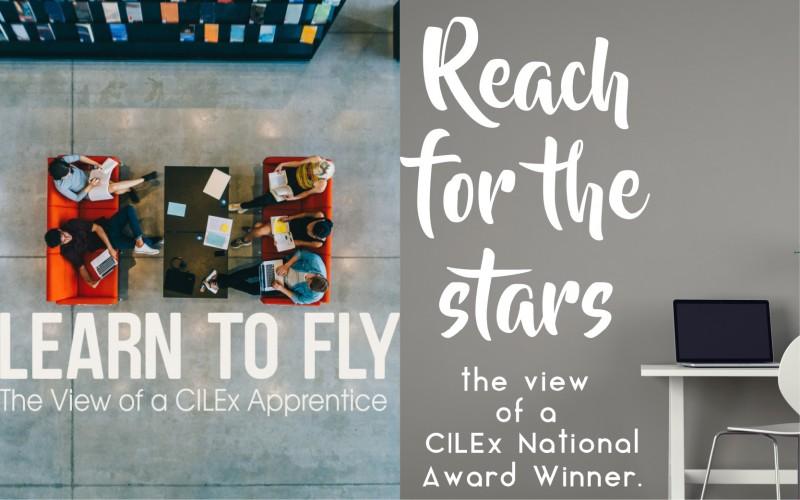 CILEx apprentices on why they chose an apprenticeship
