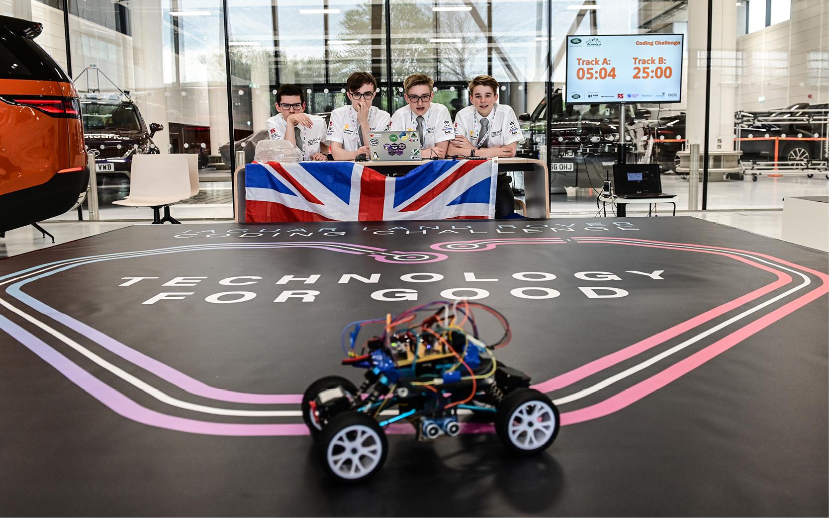Jaguar Land Rover launches digital skills apprenticeship programme