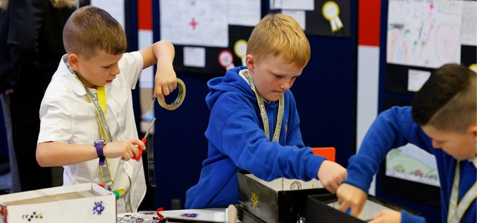 AMRC and Primary Engineer recognise Sheffield's budding young engineers
