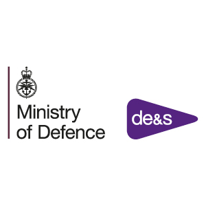 Ministry of Defence - DE&S logo