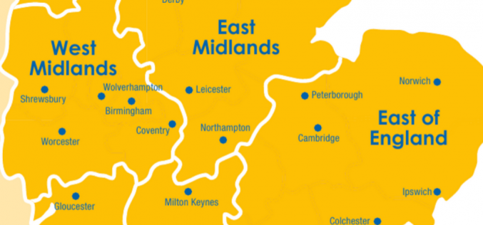 Protected: West Midlands, East Midlands, East of England