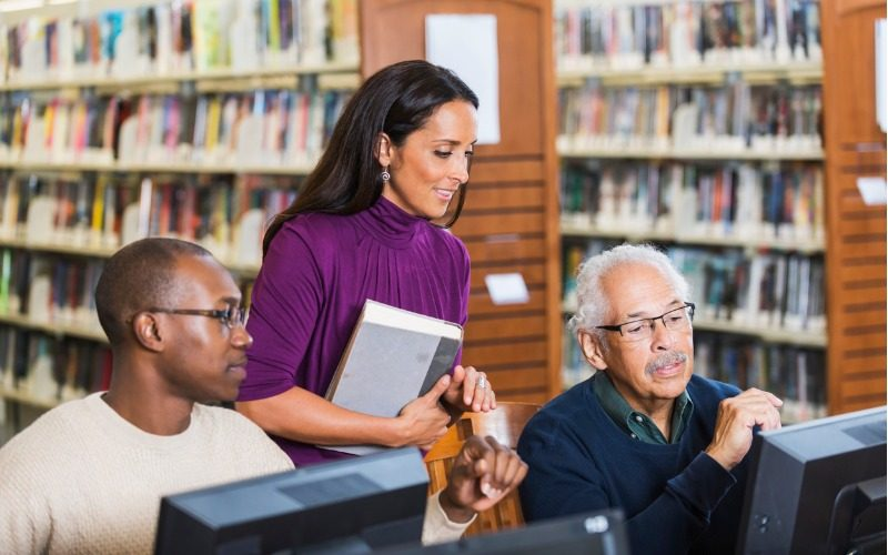 Library, information and archive services assistant