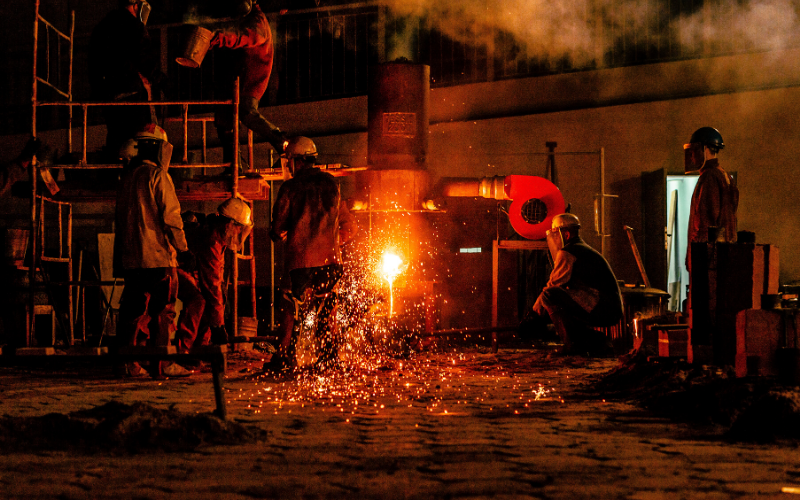 Metal casting, foundry and patternmaking technician