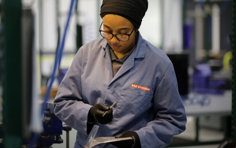 BAE Systems apprentice intake shows opportunities exist for school leavers