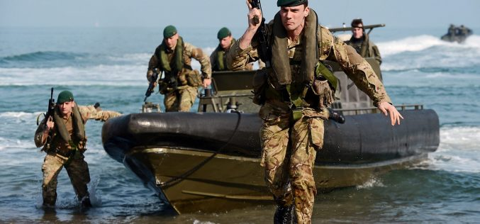 Royal Navy: Royal Marines