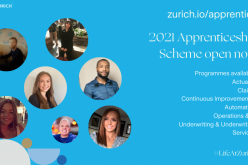 Zurich Insurance doubles number of 2021 apprenticeship places