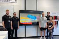 Renishaw apprentices secure second place in Engineering without Borders awards